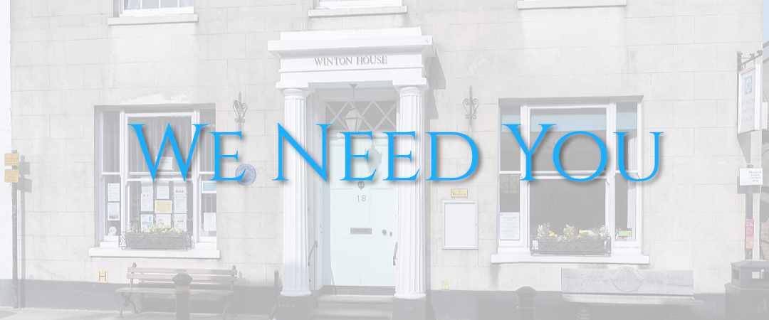 WHC Blog We need you