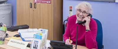 Winton House Centre Information Desk